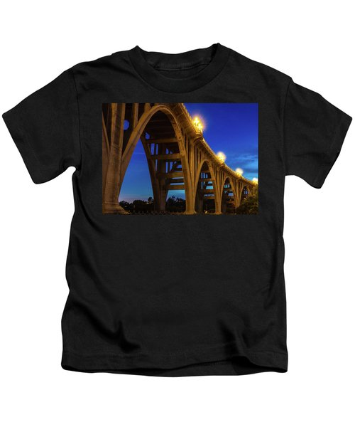 Historic Colorado Bridge Arches Kids T-Shirt