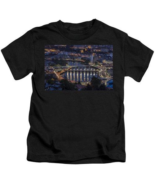 Lerez River Pontevedra Galicia Spain Kids T-Shirt