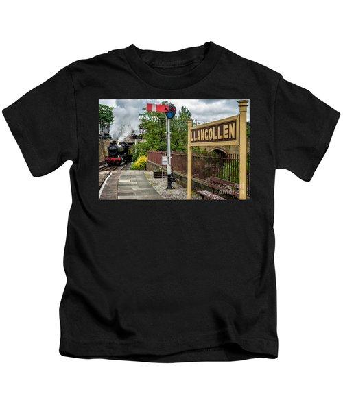 Llangollen Railway Station Kids T-Shirt