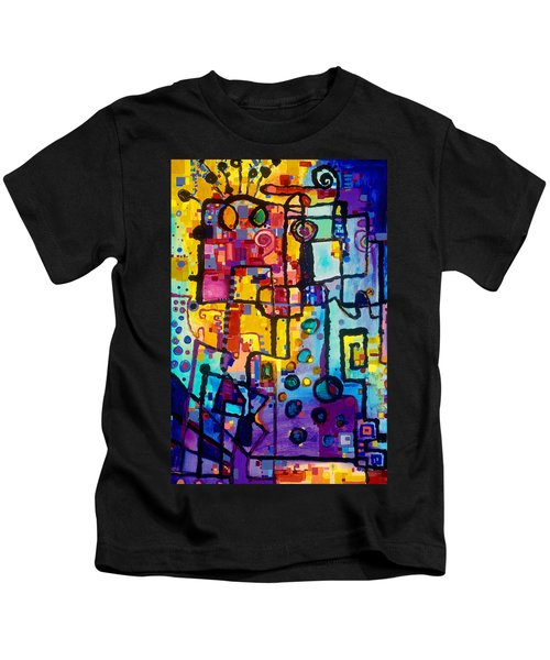 Lost Papers And Urban Plans Kids T-Shirt