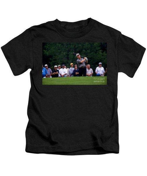 12w334 Jack Nicklaus At The Memorial Tournament Photo Kids T-Shirt