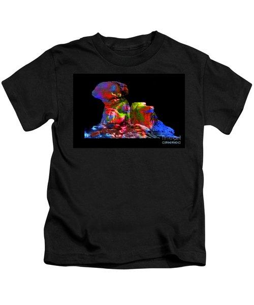 Mushroom Rock Kids T-Shirt