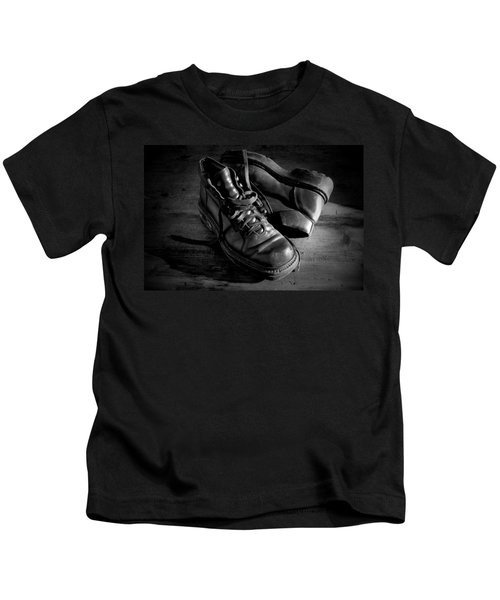 Old Leather Shoes Kids T-Shirt