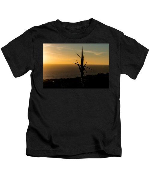 One At Sunset Kids T-Shirt
