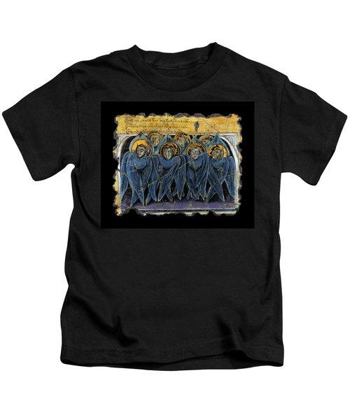 Order Of Cherubim Angels Kids T-Shirt