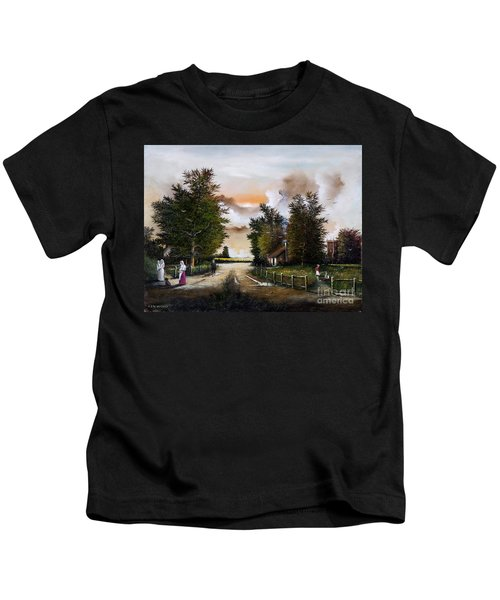 Passing The Time Kids T-Shirt