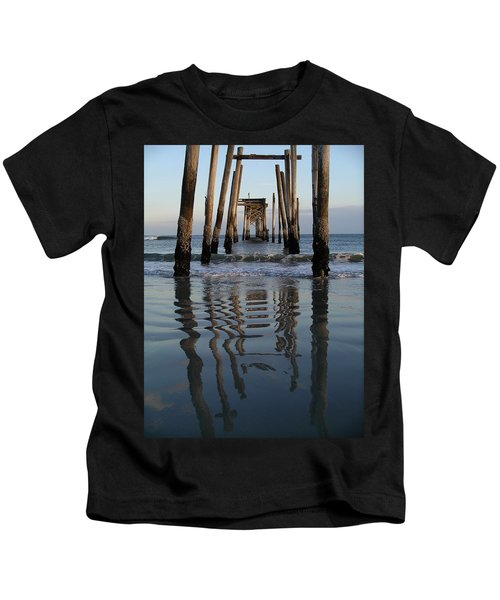 Pier Reflections Kids T-Shirt