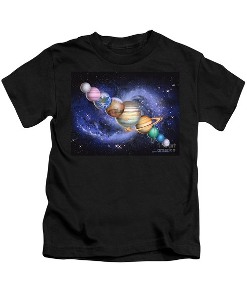 Planets In The Solar System Kids T-Shirt
