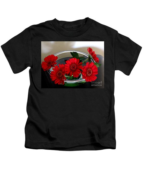 Red Flowers. Special Kids T-Shirt