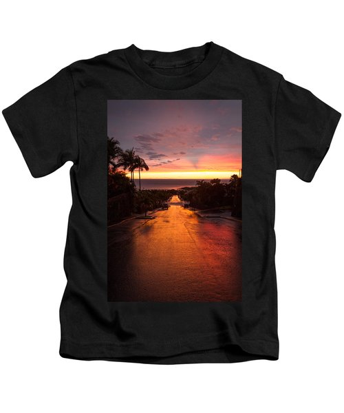 Sunset After Rain Kids T-Shirt