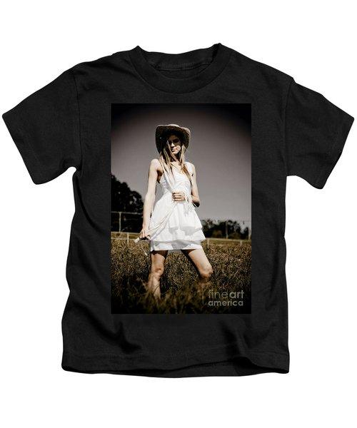 Rural Darkness Kids T-Shirt