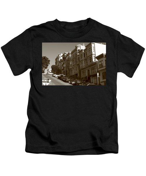 San Francisco Hills  Kids T-Shirt