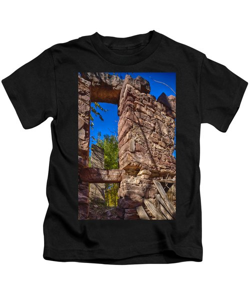 Sandstone Arch Jerome Black And White Kids T-Shirt