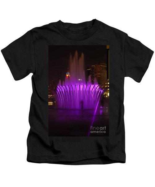 D101l-11 Scioto Mile Riverfront Park Photo Kids T-Shirt