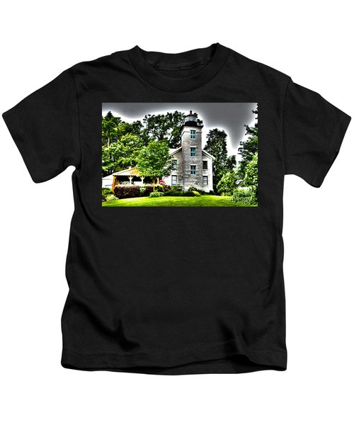 Sodus Lighthouse Kids T-Shirt