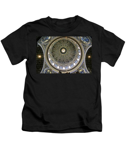 St. Peter's Basilica Dome Kids T-Shirt