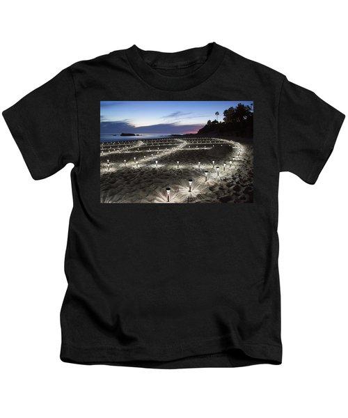 Stars On The Sand Kids T-Shirt