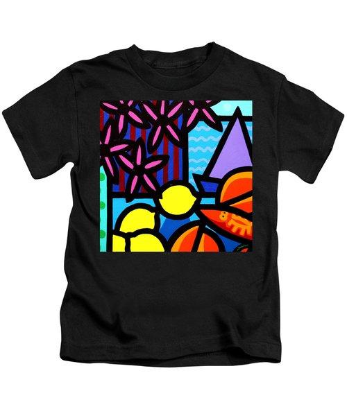 Still Life At Window IIi Kids T-Shirt