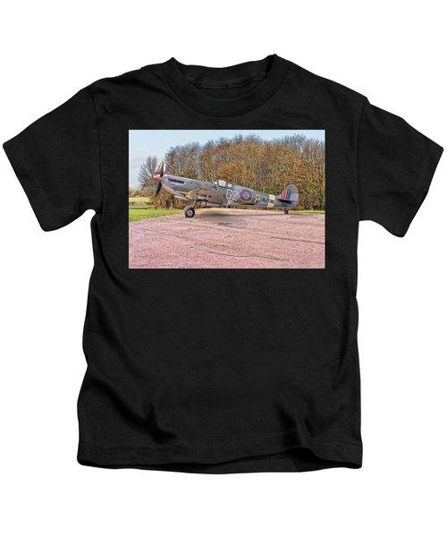 Supermarine Spitfire Hf Mk. Ixe Mj730 Kids T-Shirt