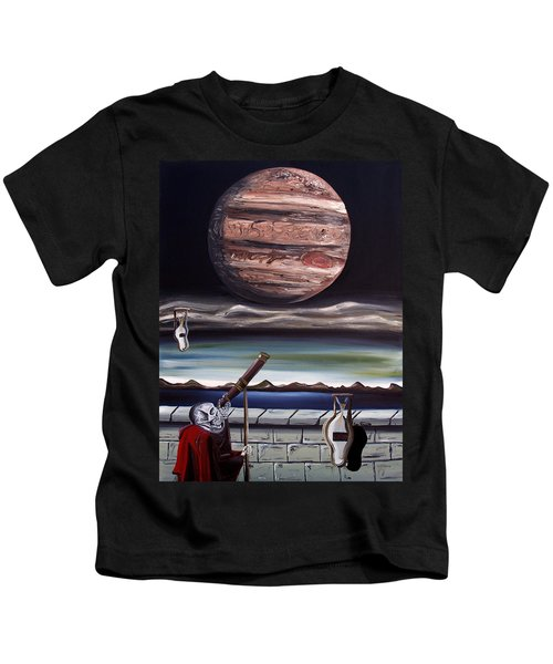 The Eternal Staring Contest Kids T-Shirt
