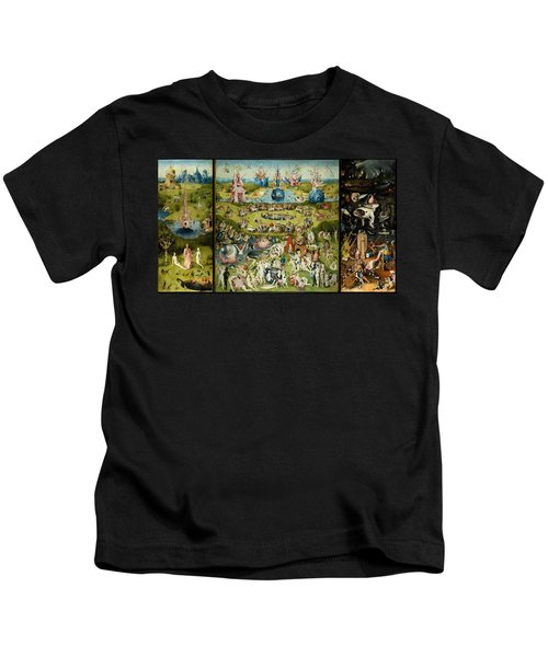 The Garden Of Earthly Delights Kids T-Shirt
