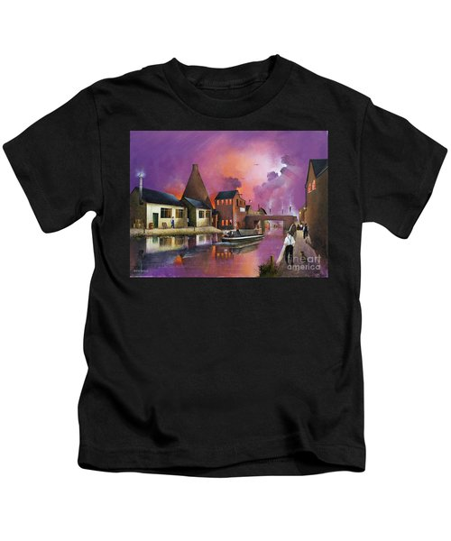 The Red House Cone - Wordsley Kids T-Shirt