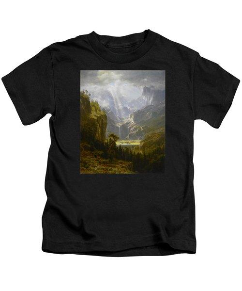 The Rocky Mountains Lander's Peak Kids T-Shirt