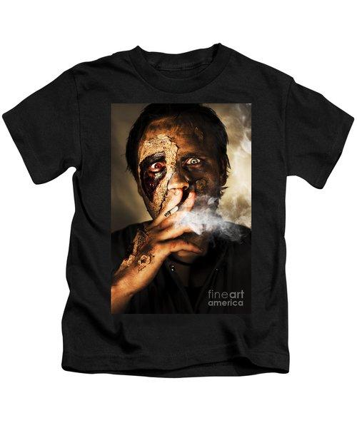 Zombie Killing Some Time Kids T-Shirt