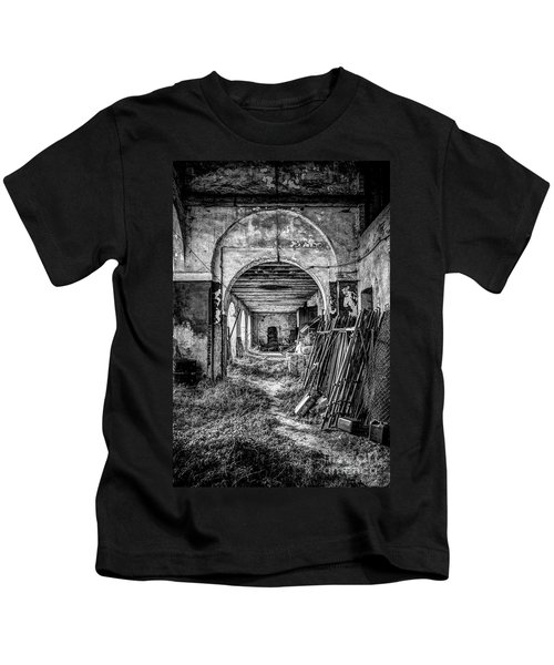 Abandoned Villa Kids T-Shirt