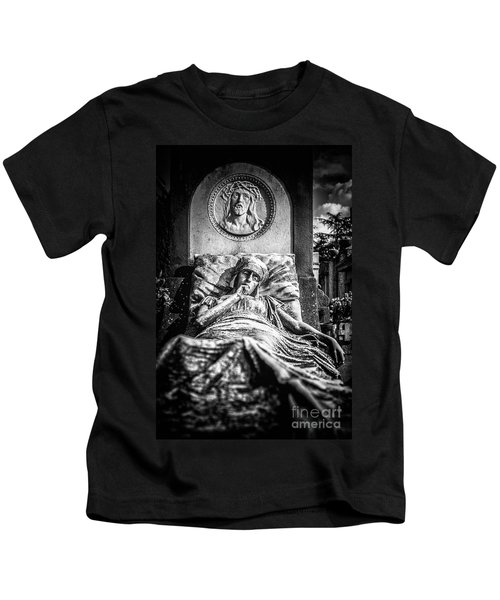 Cemetery Of Mantova Kids T-Shirt