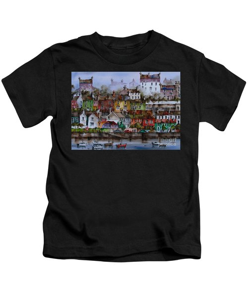107 Windows Of Kinsale Co Cork Kids T-Shirt