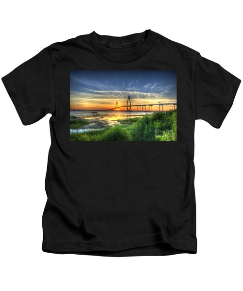Lowcountry Sunset Kids T-Shirt