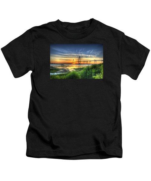 Lowcountry Sunset Kids T-Shirt