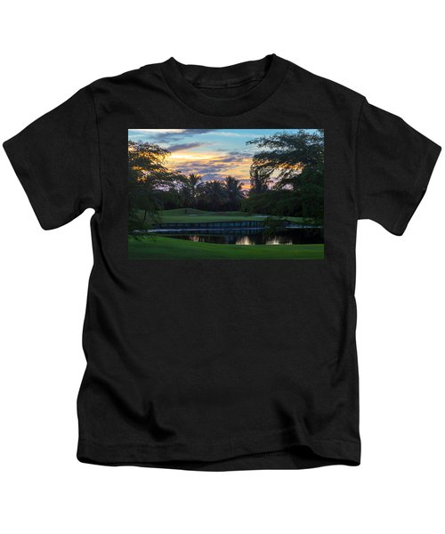 15th Green At Hollybrook Kids T-Shirt