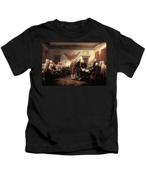 1776 Signing Declaration Kids T-Shirt