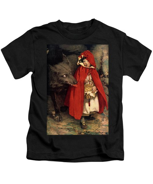 1910s 1911 Illustration Little Red Kids T-Shirt