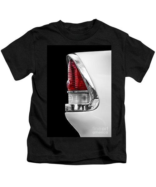 1955 Chevy Rear Light Detail Kids T-Shirt