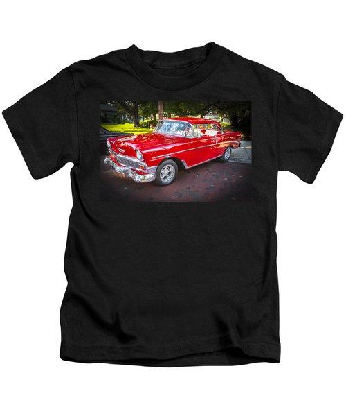 1956 Chevrolet 210 Bel Air Kids T-Shirt