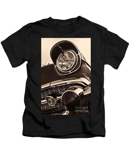 1957 Chevy Details Kids T-Shirt