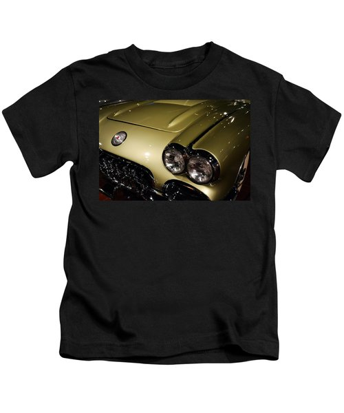 1958 Fancy Free Corvette J58s Kids T-Shirt