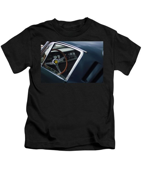 Kids T-Shirt featuring the photograph 1967 Ferrari 275 Gtb-4 Berlinetta by Jill Reger