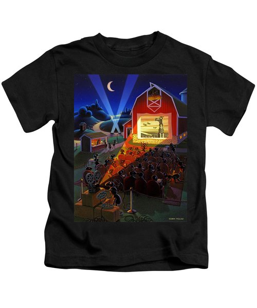 Ants At The Movies Kids T-Shirt