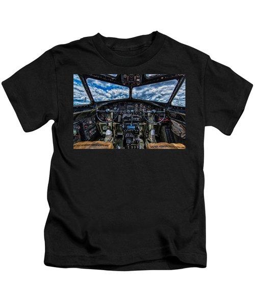 B-17 Cockpit Kids T-Shirt