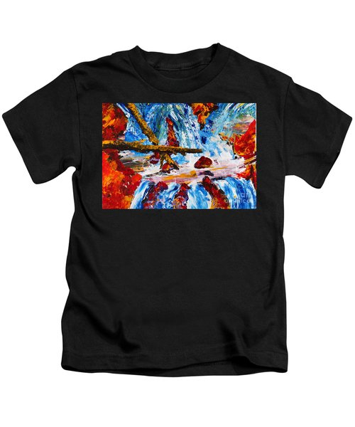 Burch Creek Run-off Kids T-Shirt