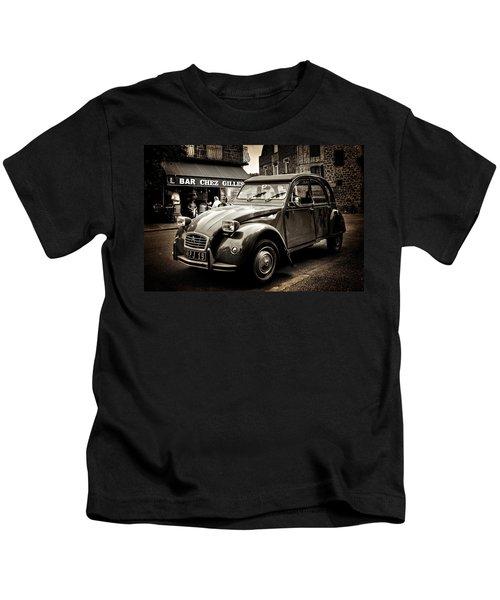 Citroen 2cv / Meyssac Kids T-Shirt