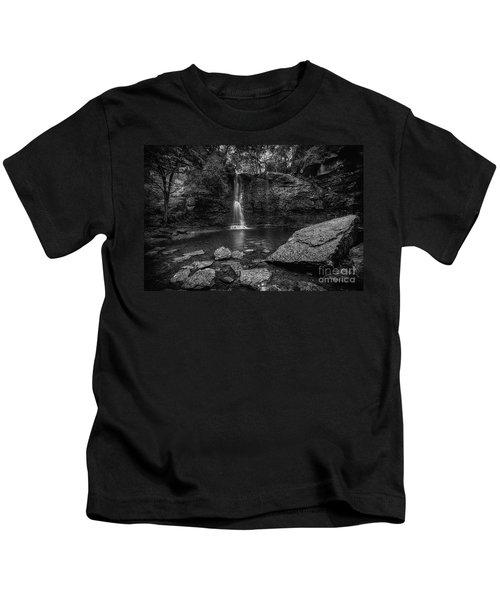 Hayden Falls Kids T-Shirt by James Dean