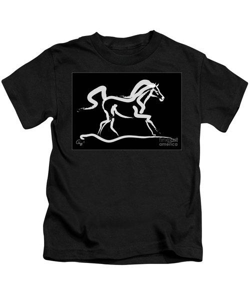 Horse-runner Kids T-Shirt