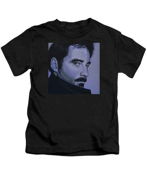 Kevin Kline Kids T-Shirt by Paul Meijering