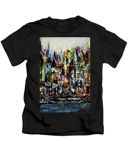 Manhattan Morning Kids T-Shirt