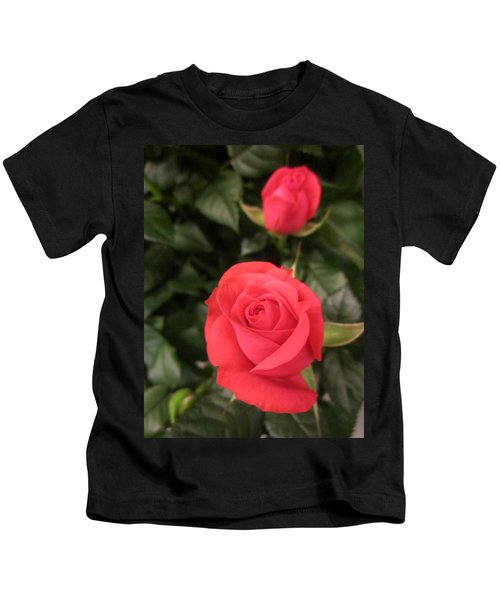 Roses In Red Kids T-Shirt